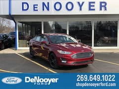 New 2019 Ford Fusion SE Sedan in Vicksburg, MI