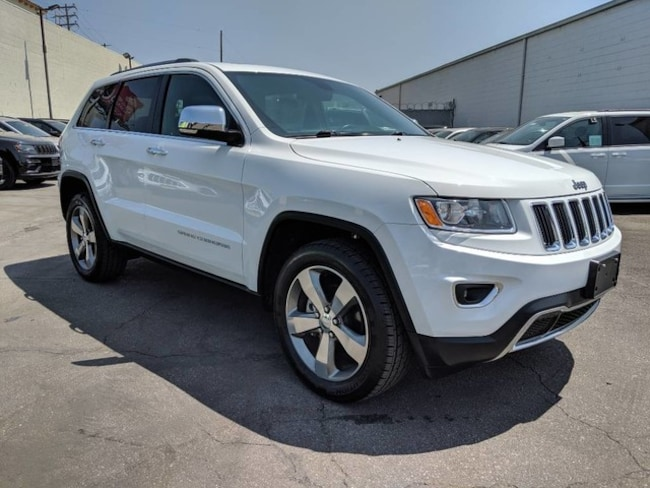Used 2016 Jeep Grand Cherokee Limited SUV in Canoga Park