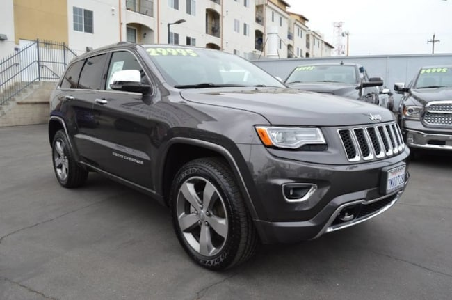 Used 2015 Jeep Grand Cherokee Overland SUV in Canoga Park