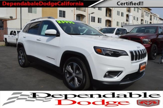 Used 2019 Jeep Cherokee Limited in Canoga Park