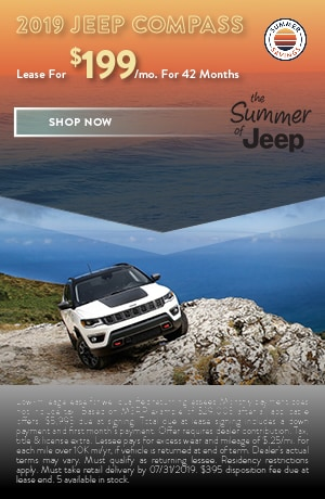 2019 Jeep Compass - July Offer