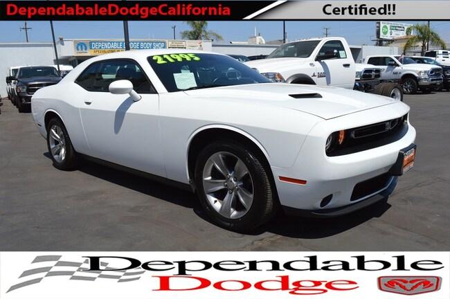 Used 2017 Dodge Challenger SXT Coupe Canoga Park