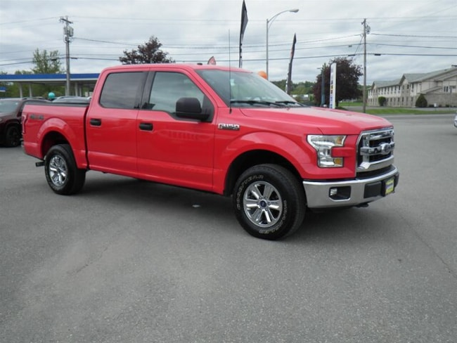 Used 2017 Ford F-150 XLT Truck SuperCrew Cab Derby, VT