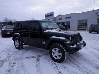 New 2018 Jeep Wrangler UNLIMITED SPORT S 4X4 Sport Utility in Derby, VT