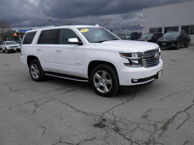 Used 2018 Chevrolet Tahoe Premier SUV Derby, VT