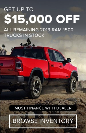 19MY Ram 1500 MSRP Offer