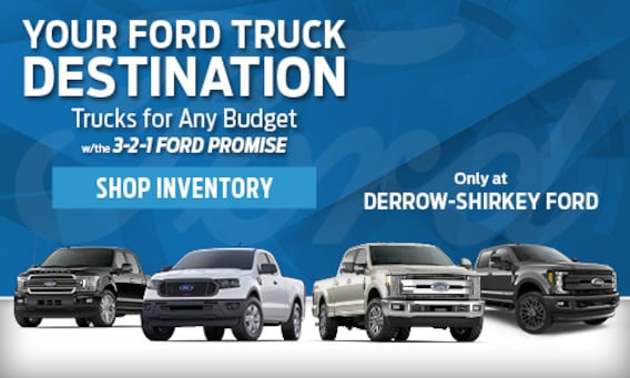 New & Used Ford Dealer in Montpelier, OH | Derrow Shirkey