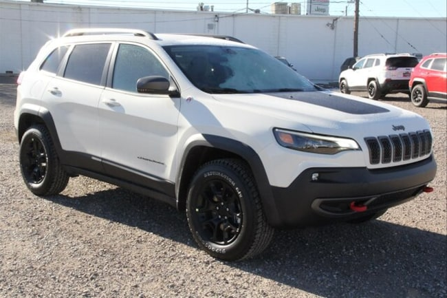 New 2019 Jeep Cherokee TRAILHAWK 4X4 Sport Utility in Roswell, NM