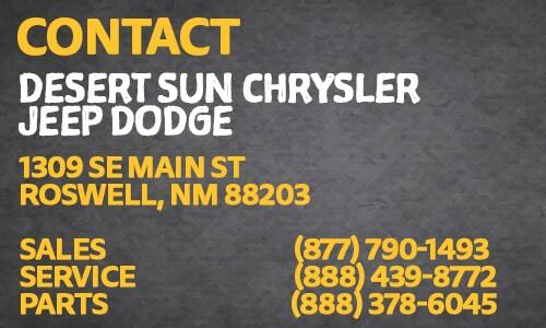 Desert Sun Roswell Nm >> About Desert Sun In Roswell Nm New Used Chrysler Dodge Jeep Ram