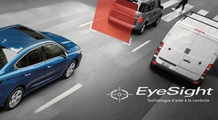 Système EyeSight - Technologies Subaru
