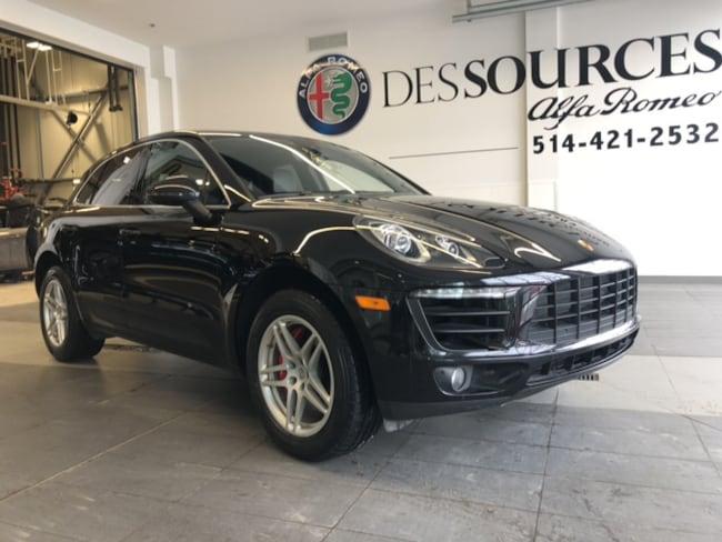 2017 Porsche Porsche Macan S S VUS