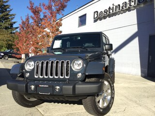 2018 Jeep Wrangler JK Unlimited Sahara BELOW COST! + $1,000 GIFT CARD SUV