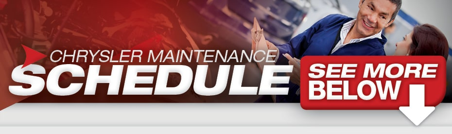 Chrysler Jeep Dodge Ram Maintenance Schedule Mopar Service