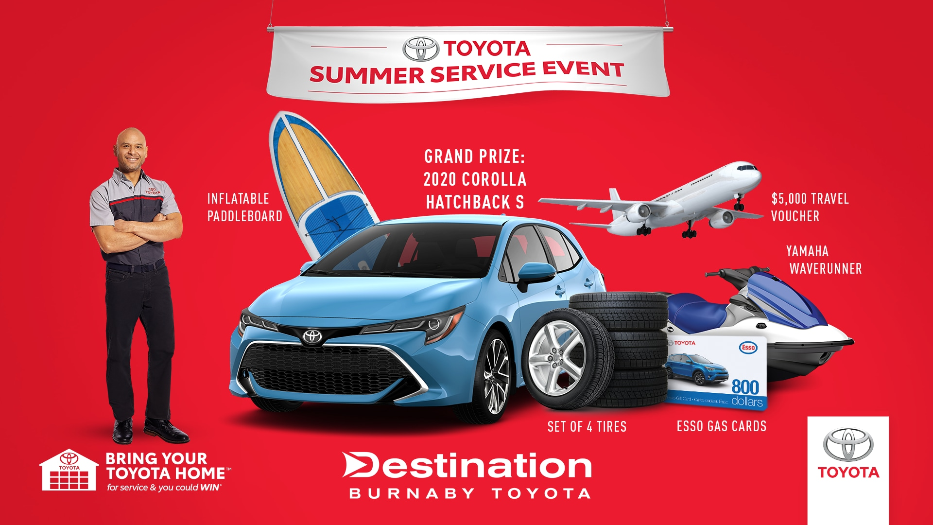 Toyota Service Appointment >> Car Service All Makes All Models Destination Toyota Burnaby