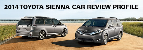 e7f47b7780 2014 Toyota Sienna Car Review - New and Used Car Dealership ...