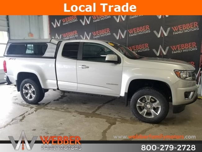Used 2018 Chevrolet Colorado Z71 Truck Extended Cab Near Fargo