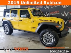 New Chrysler Dodge Jeep Ram models 2019 Jeep Wrangler UNLIMITED RUBICON 4X4 Sport Utility 1C4HJXFN3KW523010 for sale in Detroit Lakes, MN