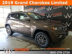 New Chrysler Dodge Jeep Ram models 2019 Jeep Grand Cherokee LIMITED 4X4 Sport Utility 1C4RJFBG1KC671924 for sale in Detroit Lakes, MN