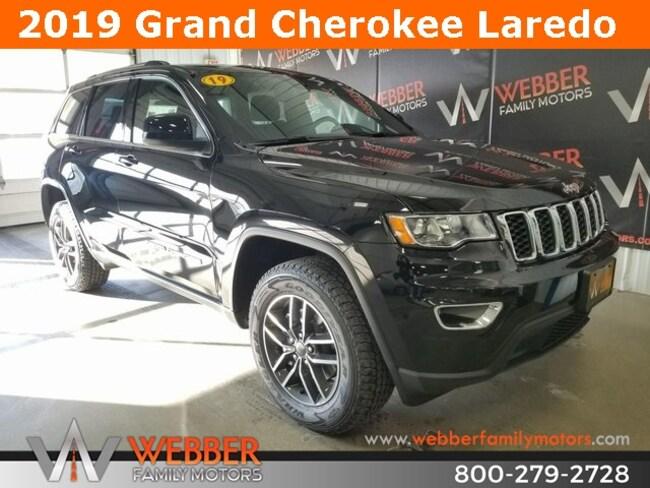 New 2019 Jeep Grand Cherokee LAREDO E 4X4 Sport Utility Near Fargo