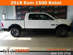 New Chrysler Dodge Jeep Ram models 2018 Ram 1500 REBEL CREW CAB 4X4 5'7 BOX Crew Cab 1C6RR7YT6JS136067 for sale in Detroit Lakes, MN