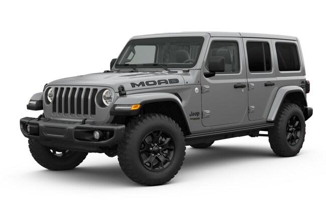 New 2019 Jeep Wrangler UNLIMITED MOAB 4X4 Sport Utility Near Fargo