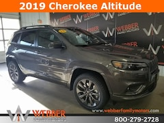 New Chrysler Dodge Jeep Ram models 2019 Jeep Cherokee HIGH ALTITUDE 4X4 Sport Utility 1C4PJMDX1KD336746 for sale in Detroit Lakes, MN