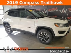 New Chrysler Dodge Jeep Ram models 2019 Jeep Compass TRAILHAWK 4X4 Sport Utility 3C4NJDDB2KT598720 for sale in Detroit Lakes, MN