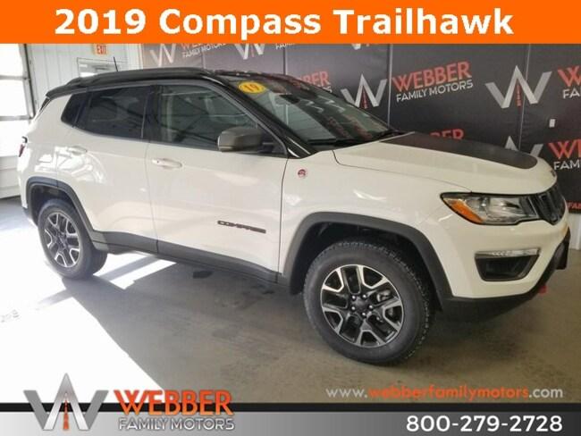 New 2019 Jeep Compass TRAILHAWK 4X4 Sport Utility Near Fargo