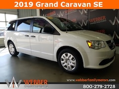 New Chrysler Dodge Jeep Ram models 2019 Dodge Grand Caravan SE Passenger Van 2C4RDGBG4KR527241 for sale in Detroit Lakes, MN