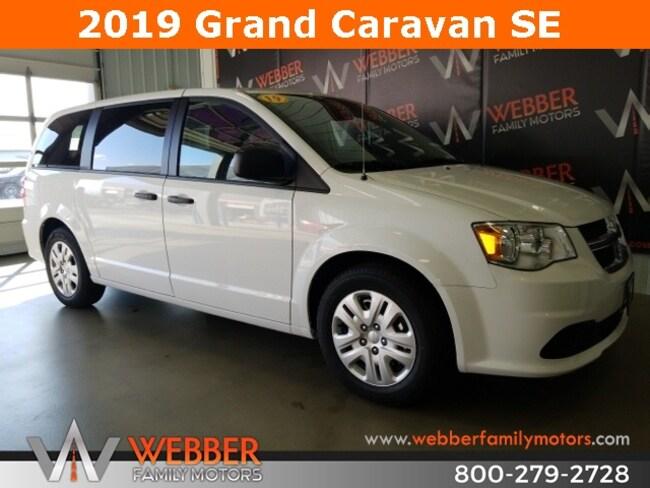 New 2019 Dodge Grand Caravan SE Passenger Van Near Fargo