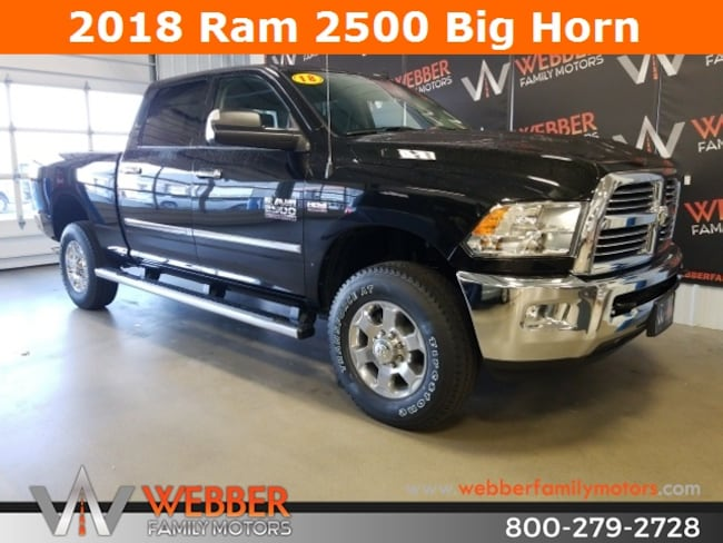 New 2018 Ram 2500 BIG HORN CREW CAB 4X4 6'4 BOX Crew Cab Near Fargo