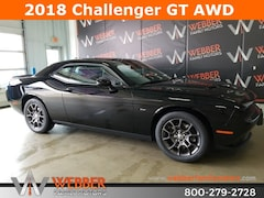 New Chrysler Dodge Jeep Ram models 2018 Dodge Challenger GT ALL-WHEEL DRIVE Coupe 2C3CDZGG1JH256948 for sale in Detroit Lakes, MN