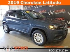 New Chrysler Dodge Jeep Ram models 2019 Jeep Cherokee LATITUDE 4X4 Sport Utility 1C4PJMCX0KD382862 for sale in Detroit Lakes, MN