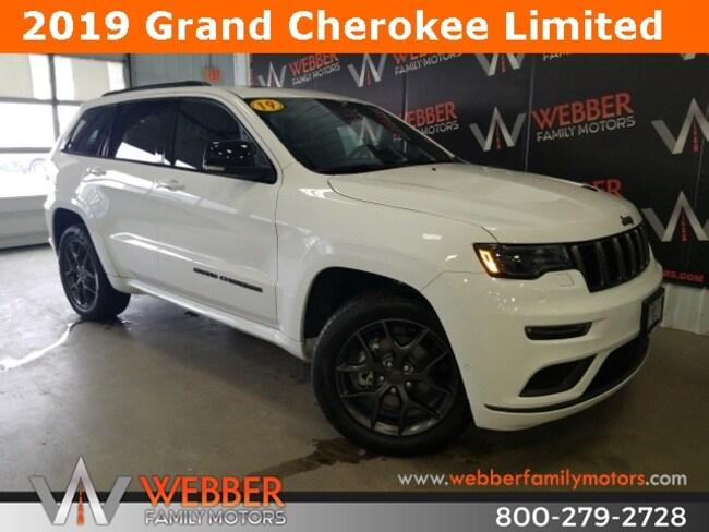 New 2019 Jeep Grand Cherokee LIMITED X 4X4 Sport Utility Near Fargo