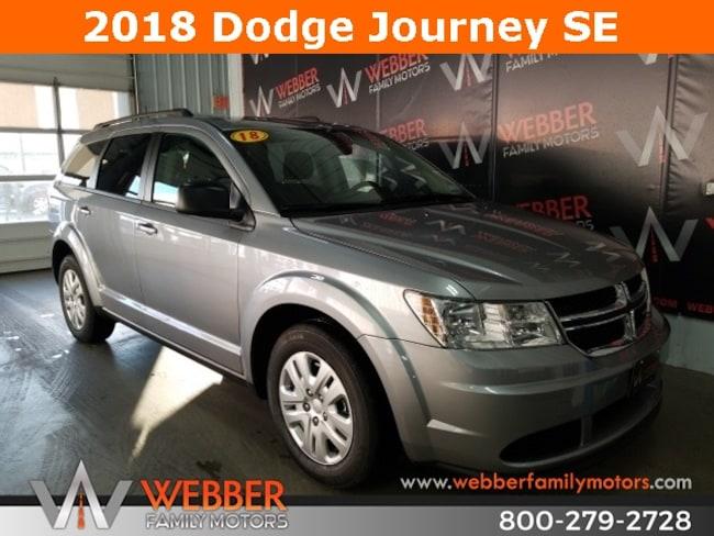New 2018 Dodge Journey SE Sport Utility Near Fargo