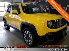New Chrysler Dodge Jeep Ram models 2018 Jeep Renegade LATITUDE 4X4 Sport Utility ZACCJBBB5JPJ41918 for sale in Detroit Lakes, MN