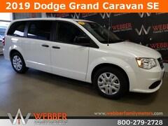 New Chrysler Dodge Jeep Ram models 2019 Dodge Grand Caravan SE Passenger Van 2C4RDGBG6KR572648 for sale in Detroit Lakes, MN