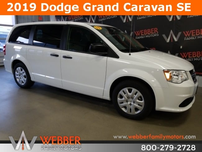 New 2019 Dodge Grand Caravan SE Passenger Van Near Fargo