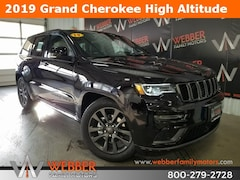 New Chrysler Dodge Jeep Ram models 2019 Jeep Grand Cherokee HIGH ALTITUDE 4X4 Sport Utility 1C4RJFCG7KC611094 for sale in Detroit Lakes, MN