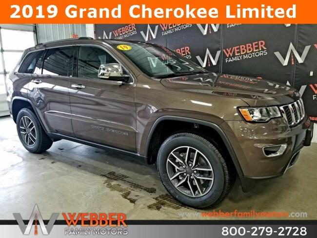 New 2019 Jeep Grand Cherokee LIMITED 4X4 Sport Utility Near Fargo