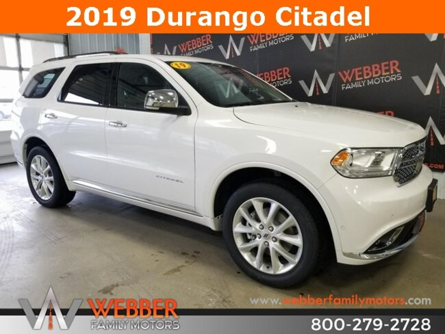New 2019 Dodge Durango CITADEL AWD Sport Utility Near Fargo