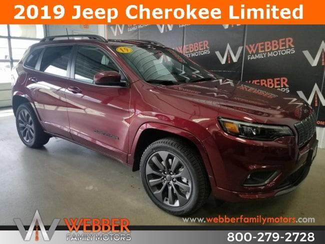 New 2019 Jeep Cherokee HIGH ALTITUDE 4X4 Sport Utility Near Fargo