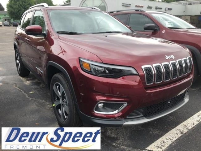New 2019 Jeep Cherokee LIMITED 4X4 Sport Utility for sale or lease in Fremont, MI