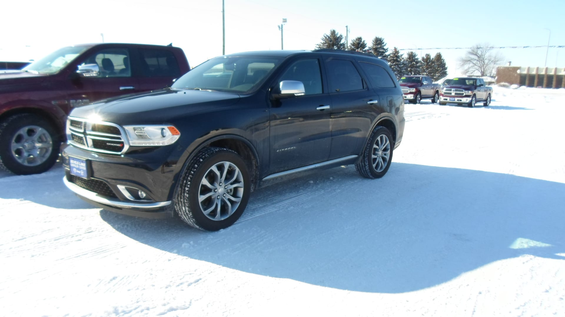 USed 2018 Dodge Durango for sale in Devils Lake