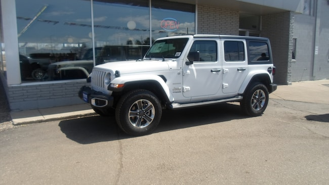 New 2019 Jeep Wrangler UNLIMITED SAHARA 4X4 Sport Utility for sale in Devils Lake, ND