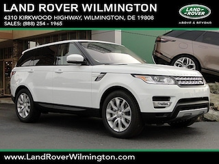 New 2017 Land Rover Range Rover Sport 3.0L V6 Turbocharged Diesel SE Td6 SUV in Wilmington, DE