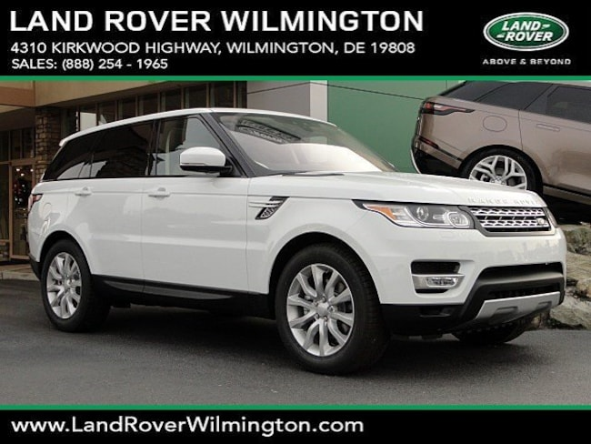 New 2017 Land Rover Range Rover Sport 3.0L V6 Turbocharged Diesel SE Td6 SUV in Wilmington, DE