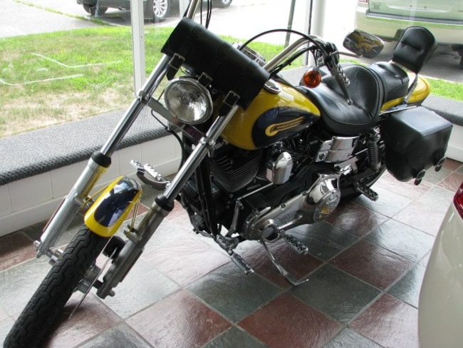2004 Harley-Davidson Fxdwg Custom Paint Treatment Other