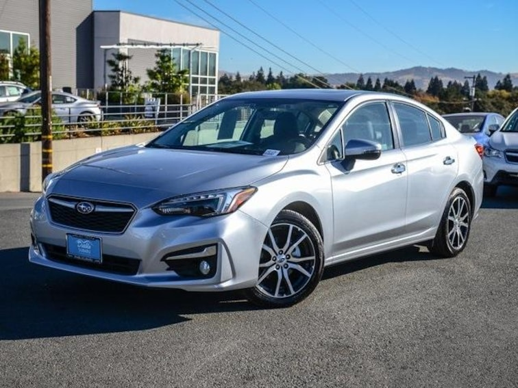 Certified Pre-Owned 2018 Subaru Impreza 2.0i Limited 4-Door CVT Car Walnut Creek, CA