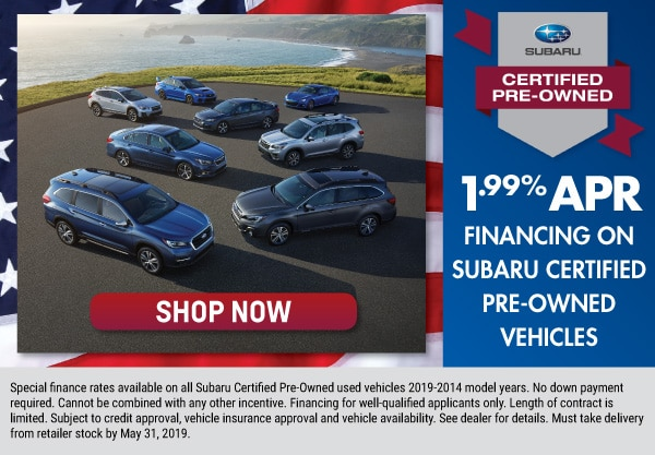 1.99% Certified Pre-Owned Offer